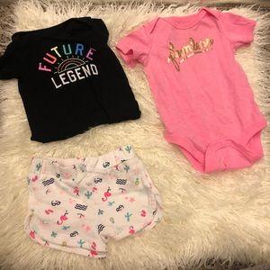Super cute 0-3 month bundle